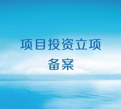 武汉项目投资立项备案